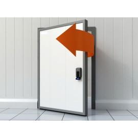 Дверь Холодильная (С\\Т) 800х1800 мм Распашная