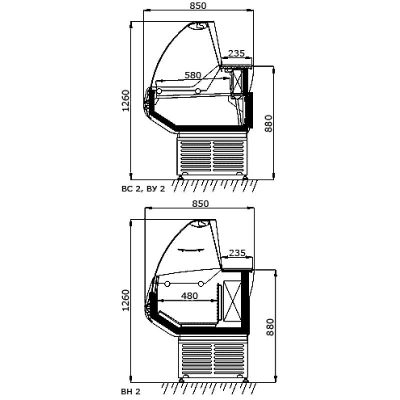 Компрессор Danfoss FR8.5CL (R404a/R507)