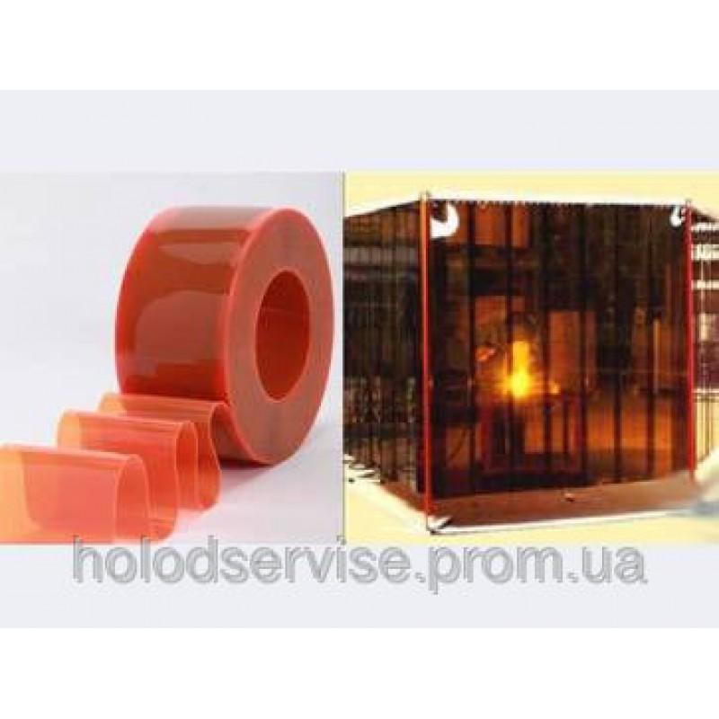 ПВХ- завеса для сварочных постов (красный, бронзовый)